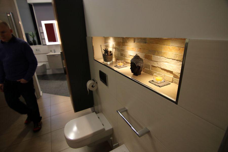 Dekoration im Badezimmerbereich