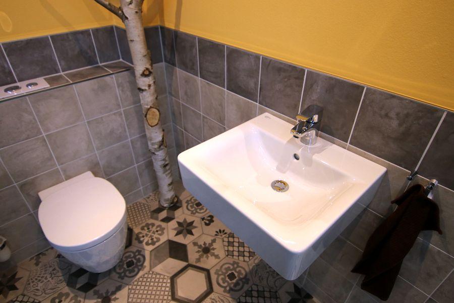 Exotisches Badezimmerdesign